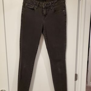 CASTINGS faded black skinny Jean's cropped